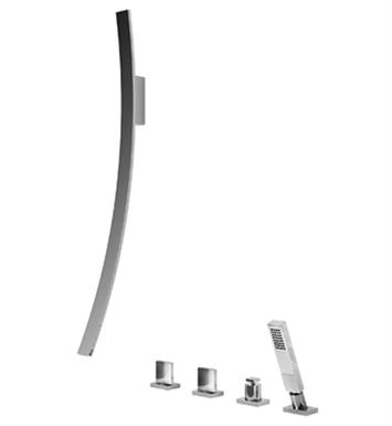 Graff G 6051 C14b Pc Luna Wall Mounted Tub Filler With