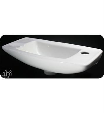 Bathroom Sink Brands : ALFI Brand AB103 Small White Wall Mounted Porcelain Bathroom Sink ...