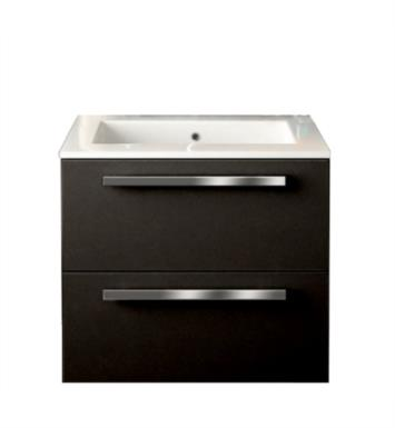 Latoscana Am24opt1 Ambra 24 Inch Modern Bathroom Vanity With 2 Slow Close Drawers Flat Face