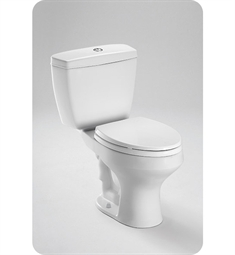 Toto Rowan™ Close Coupled Round Toilet 1.6GPF / 1.0GPF