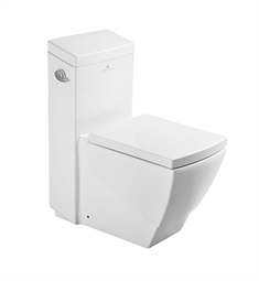 Fresca Apus One Piece Square Toilet with Soft Close Seat