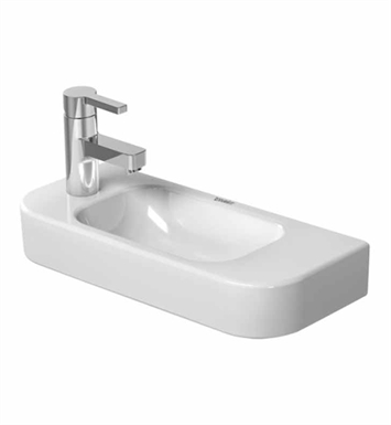 Wall Mount Sink No Faucet Hole : ... 19 5/8 Wall Mount Porcelain Bathroom Sink With Faucet Holes: No Hole
