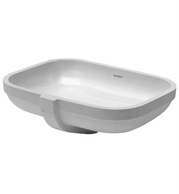 Duravit Ada Sink : Duravit 0457480000 Happy D Undermount Porcelain Bathroom Sink