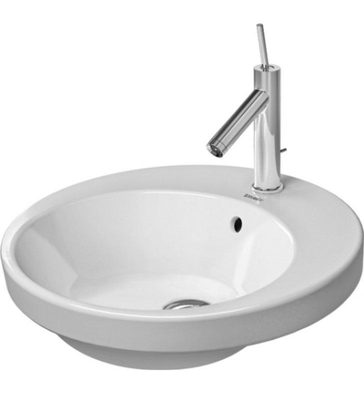 Duravit Ada Sink : DUR-2327480000 Duravit Starck Drop In Ceramic Bathroom Sink