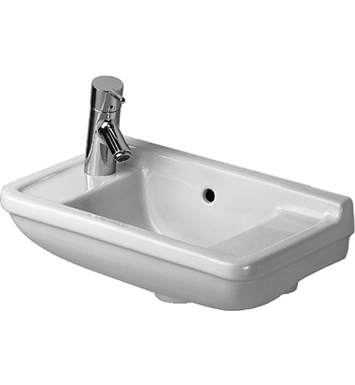 Duravit 07515000 Starck Wall Mount Porcelain Bathroom Sink