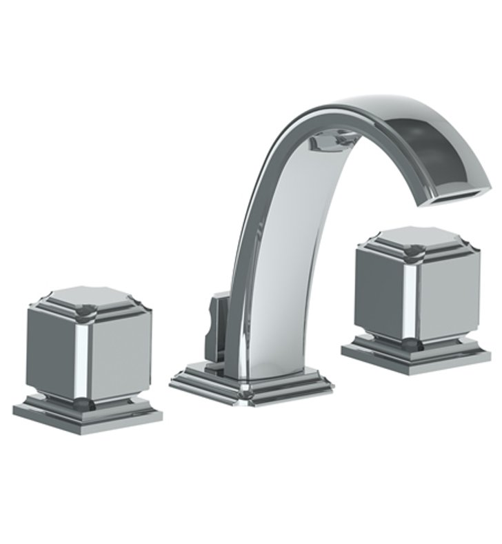 watermark 203 2 t1 prestige widespread bathroom faucet with square