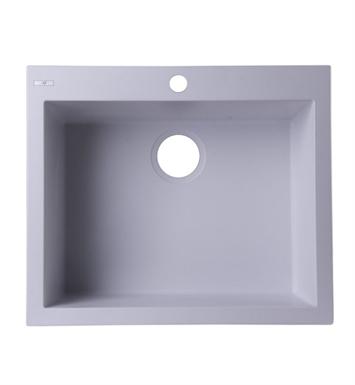 Granite Sink Brands : ALFI Brand AB2420DI-W White 24