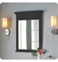"Fairmont Designs Framingham 24"" Mirror - Obsidian"