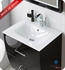 "Fresca Platinum Poeme 24"" Optical Glass Sink/Countertop - White"