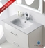 "Fresca Platinum Messina 32"" Ceramic Washbasin"