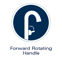 Grohe Forward Rotating Handle