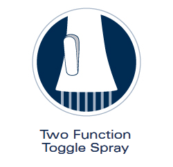 Grohe Two Function Toggle Spray