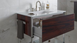 vanity bathroom glass robern with cartesian products wall design mount modular single drawer vanities