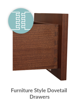 Furniture Style Dovetail Drawers