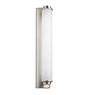 Kichler Allegre Collection Linear Bath 26 Inch Fluorescent in Satin Nickel