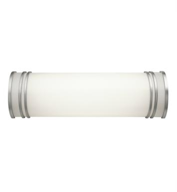 "Kichler 10329WH 2 Light 18 3/4"" Compact Fluorescent Linear Bath Light in White"