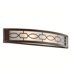 Kichler Punctuation Collection Linear Bath 24 Inch in Mission Bronze