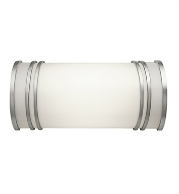 Kichler 10328WH Linear Bath 12 Inch Fluorescent in White