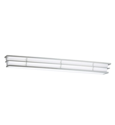 Kichler Pavilion Collection Linear Bath 40 Inch Fluorescent in Silver Various
