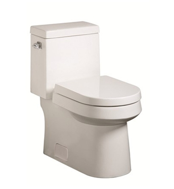 Danze DC031221WH Ziga Zaga 1 Piece Toilet in White