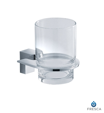 Fresca FAC2310 Generoso Tumbler Holder in Chrome