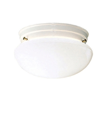 Kichler 209WH Ceiling Space Collection Flush Mt 2 Light in White