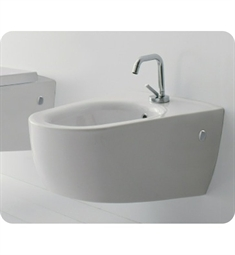 Nameeks 8049 Scarabeo Tizi Wall Mounted Bidet in White