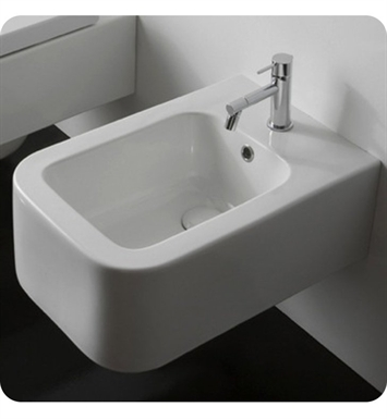 Nameeks 8302 Scarabeo Next Wall Mounted Bidet in White