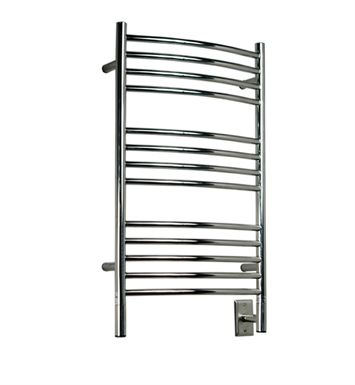 Amba CCB-20 Jeeves C-Curved Towel Warmer With Finish: Brushed