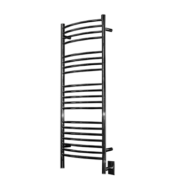 Amba DCP-20 Jeeves D-Curved Towel Warmer With Finish: Polished