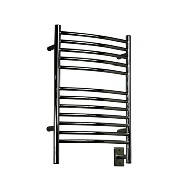 Amba ECB-20 Jeeves E-Curved Towel Warmer With Finish: Brushed