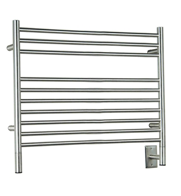 Amba LSP-40 Jeeves L-Straight Towel Warmer With Finish: Polished