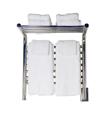 Amba MSP-20 Jeeves M-Straight-Shelf Towel Warmer With Finish: Polished