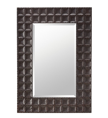 Kichler 78223BZ Bronze Missoula Modern Wall Mounted Mirror