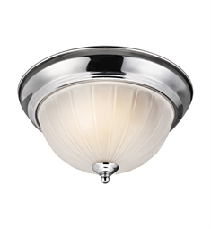 Kichler Flush Mount 2 Light in Chrome