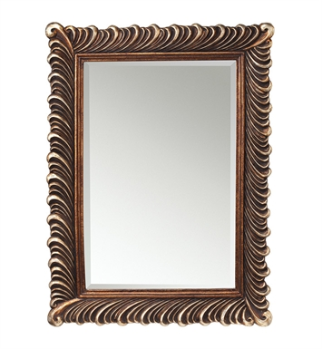 "Kichler 78161 Quill 47"" Height Rectangular Mirror"