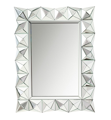 "Kichler 78163 Gibraltar 40"" Height Rectangular Mirror"