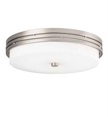 Kichler 42380NI LED Flush Mount in Brushed Nickel