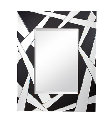 "Kichler Cutting Edge 46.25"" High Rectangular Mirror"