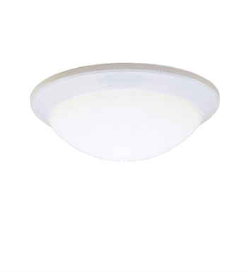 Kichler 8881WH Ceiling Space Collection Flush Mount 1 Light in White