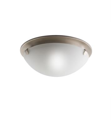 Kichler 7003NI 2 Light Incandescent Flush Mount Ceiling Light in Brushed Nickel