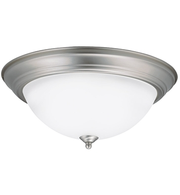 Kichler 8116NILED Flush Mount LED Ceiling Light in Brushed Nickel