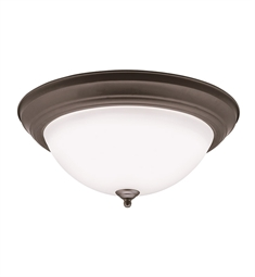 Kichler Flush Mount LED Ceiling Light in Olde Bronze