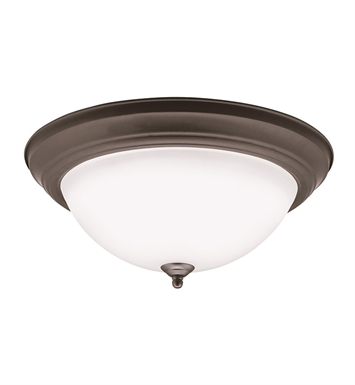 Kichler 8116OZLED Flush Mount LED Ceiling Light in Olde Bronze
