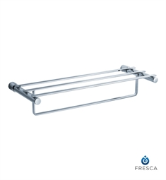 "Fresca Magnifico 23"" Towel Rack in Chrome"