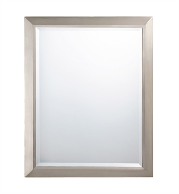Kichler 41011NI Traditional Large Rectangular Mirror in Brushed Nickel