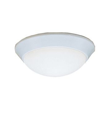 Kichler 8880WH Ceiling Space Collection Flush Mount 1 Light in White