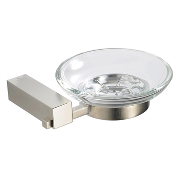 Fresca FAC0403BN Ottimo Soap Dish in Brushed Nickel