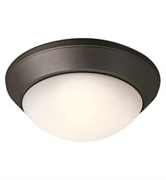 Kichler Ceiling Space Collection Flush Mount 2 Light in Olde Bronze