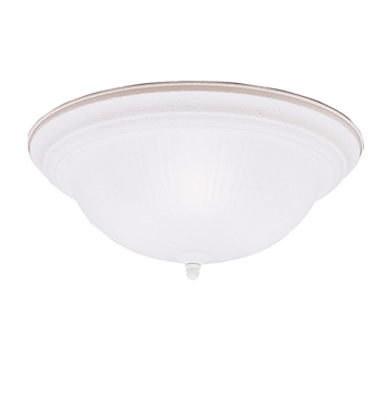 Kichler 8655SC Flush Mount 3 Light in Stucco White